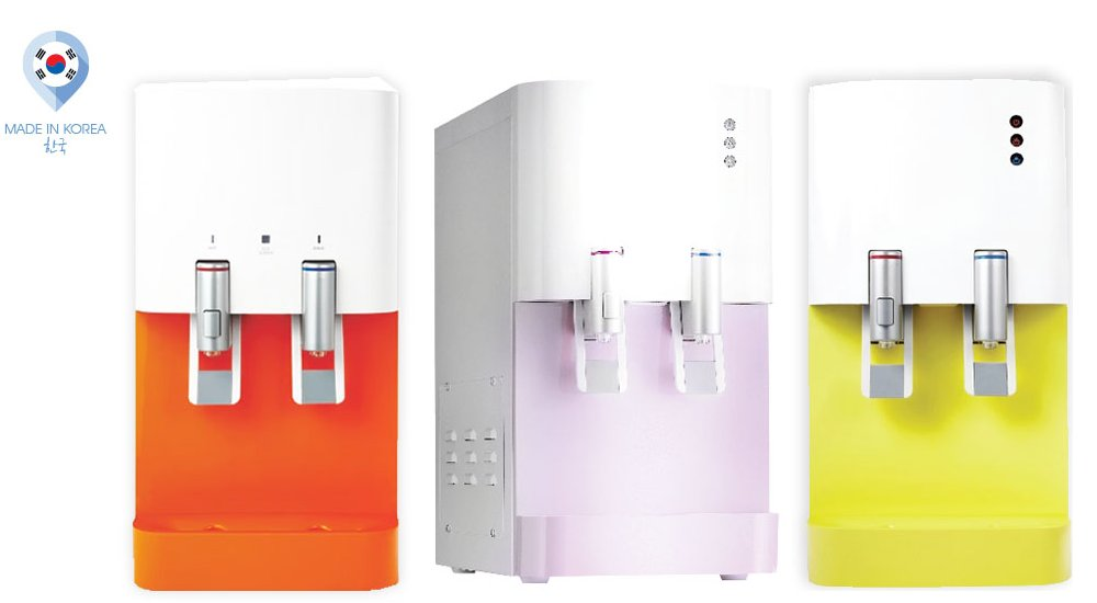 Korea 860 Hot and Cold Water Dispenser 4 Stage Filter www.ck.com.my