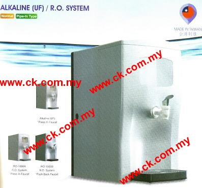 Taiwan Alkaline RO Water Filter With Water Tank